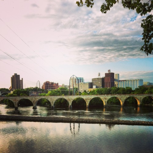 The Stone Arch Bridge. Photo by Scott Shaffer.
