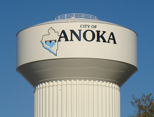 anoka watertower