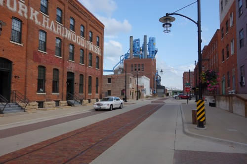 Historic Millwork District in Dubuque, Iowa