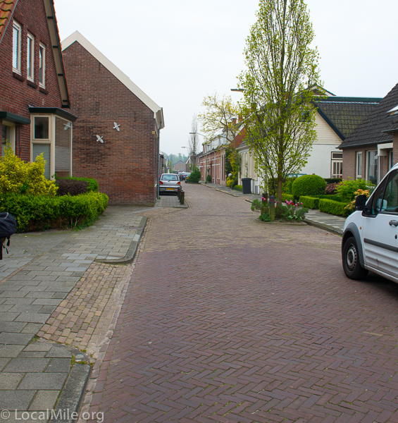 Dutch cities want most of their streets to be pleasant and safe for bicycling without the need of special facilities.
