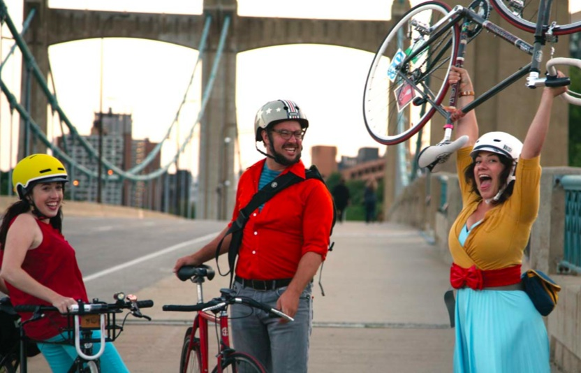 If you're looking for pictures of happy bikers in the summer, this plan's got you covered!