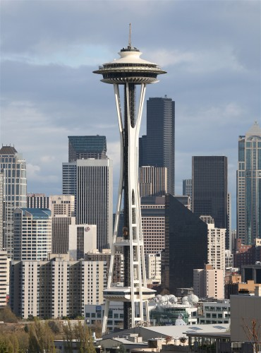 Like the Space Needle, the MSP Tower would be a major regional attraction, with TWO skyline views.