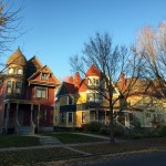 Three homes on Marshall Avenue