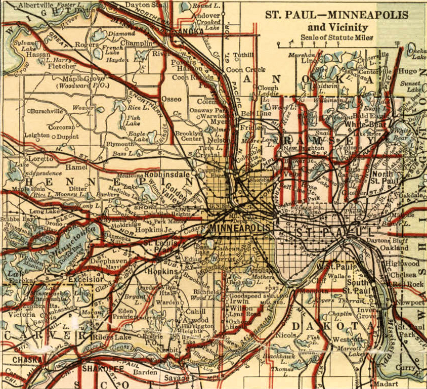 """State Roads"", Twin Cities Metro"