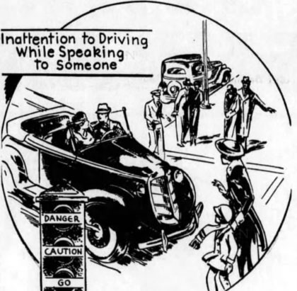 Driver Distraction 1924