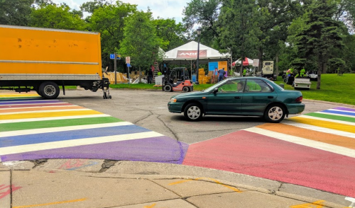 Pride Crosswalks