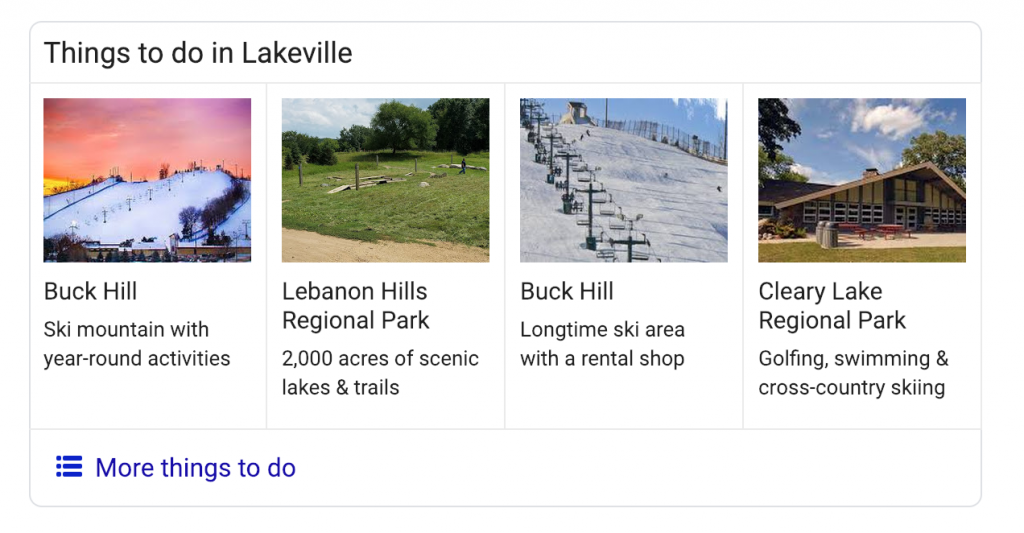 Things to Do in Lakeville