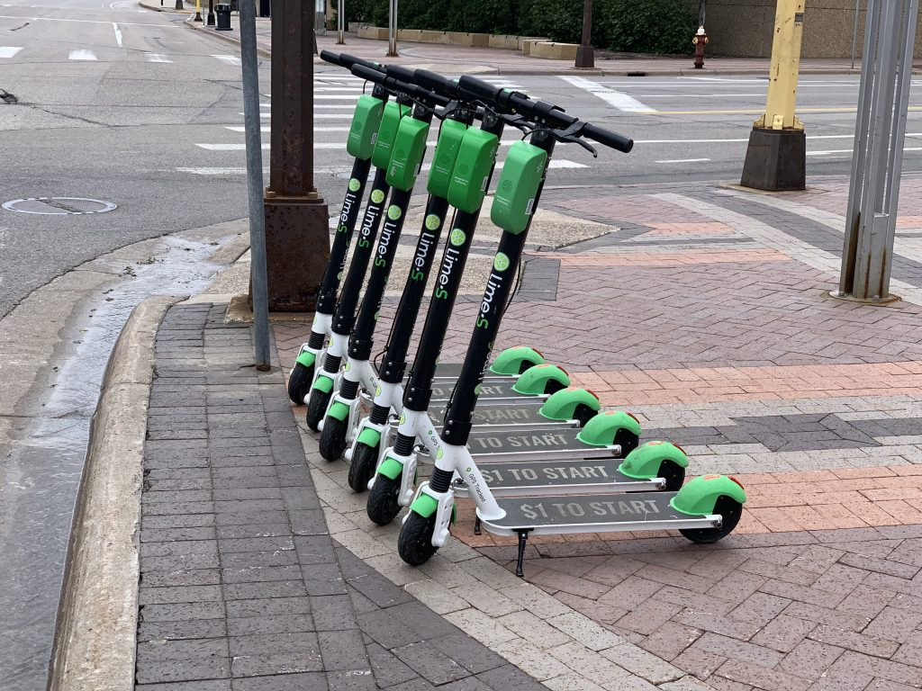 Lime Scooters At Gateway Park May 23 2019