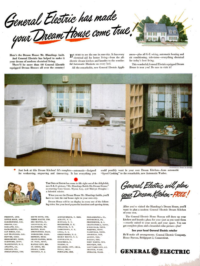 Blandings Dream House Ad