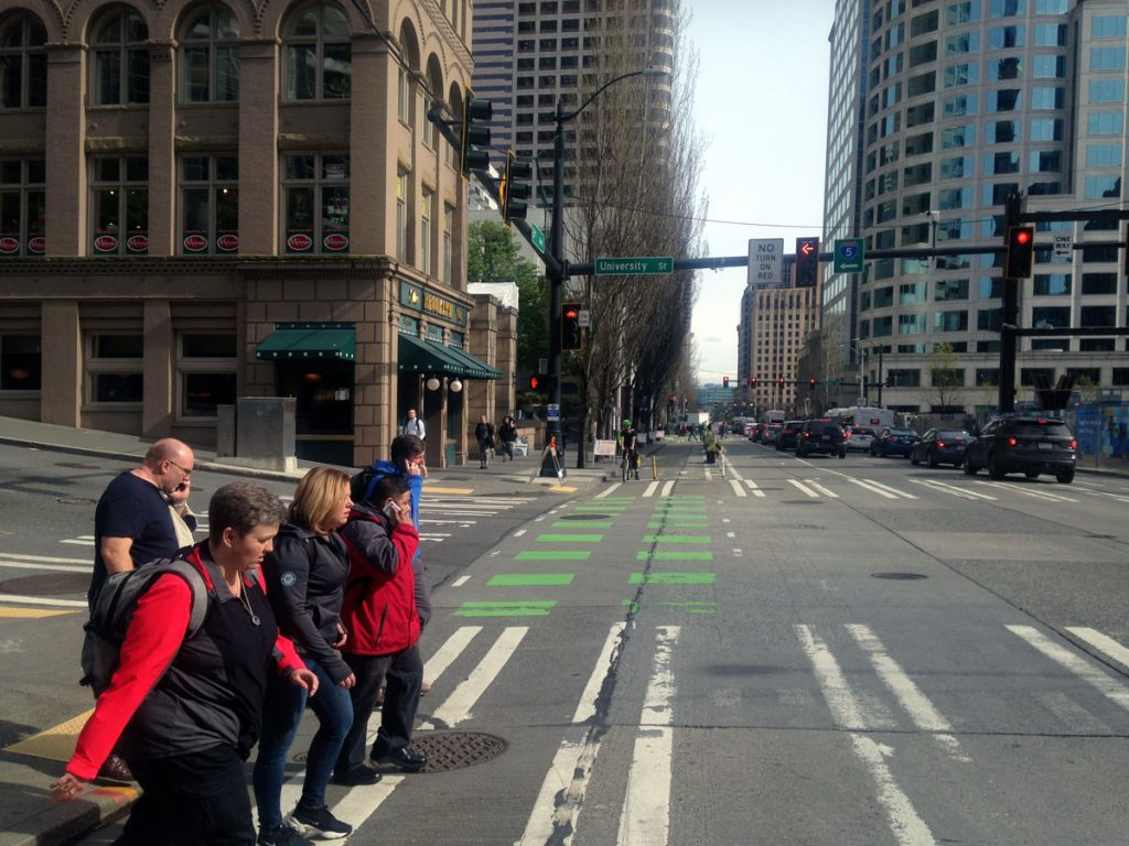 Seattle Bike Lane 2