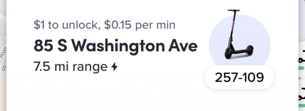 Lyft scooters are currently cheaper than Lime scooters.