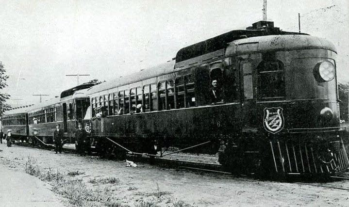 Dan Patch Rail Train